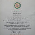Certifikat 1 000 timmars utbildning