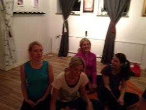 Några av yogisarna